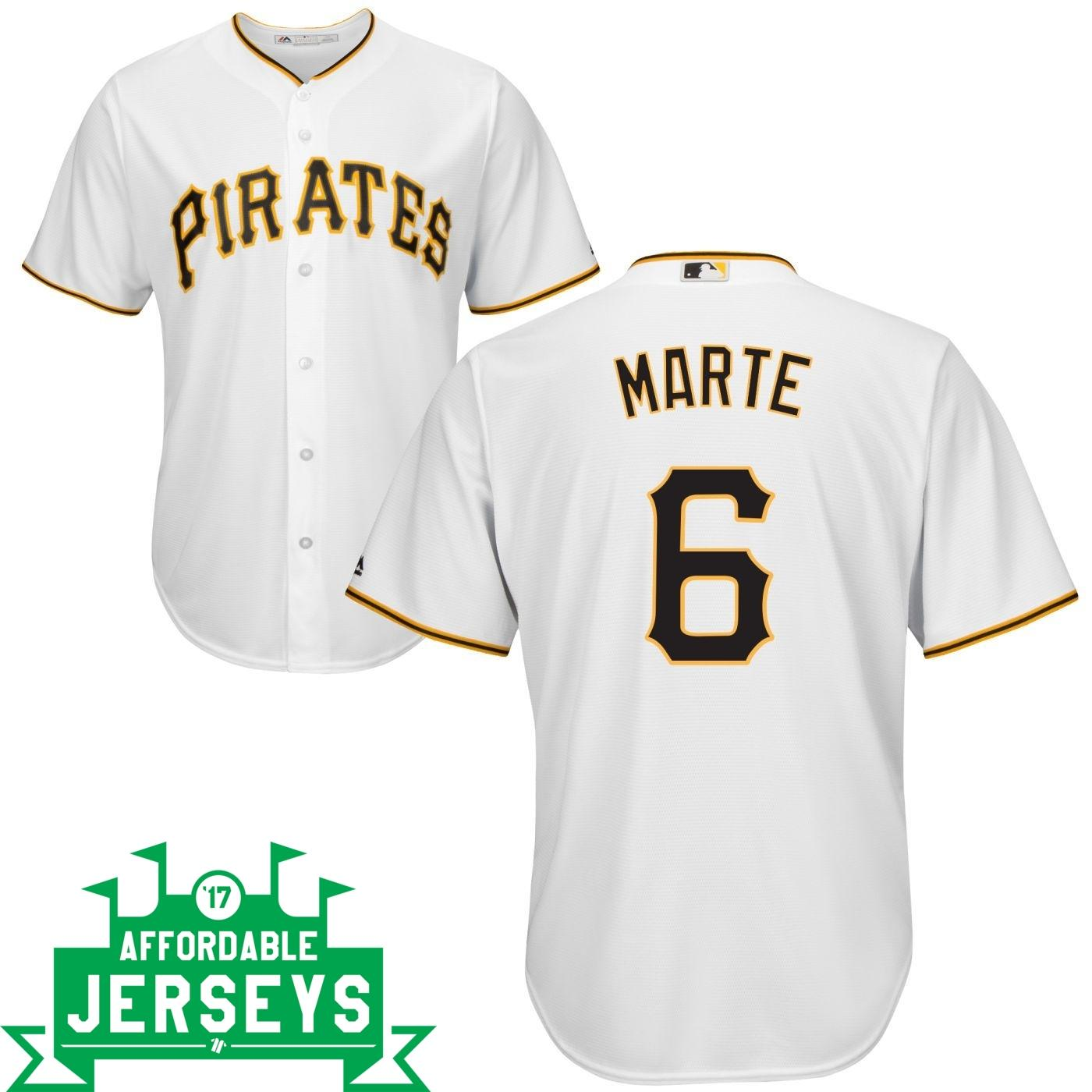 Starling Marte Home Cool Base Player Jersey