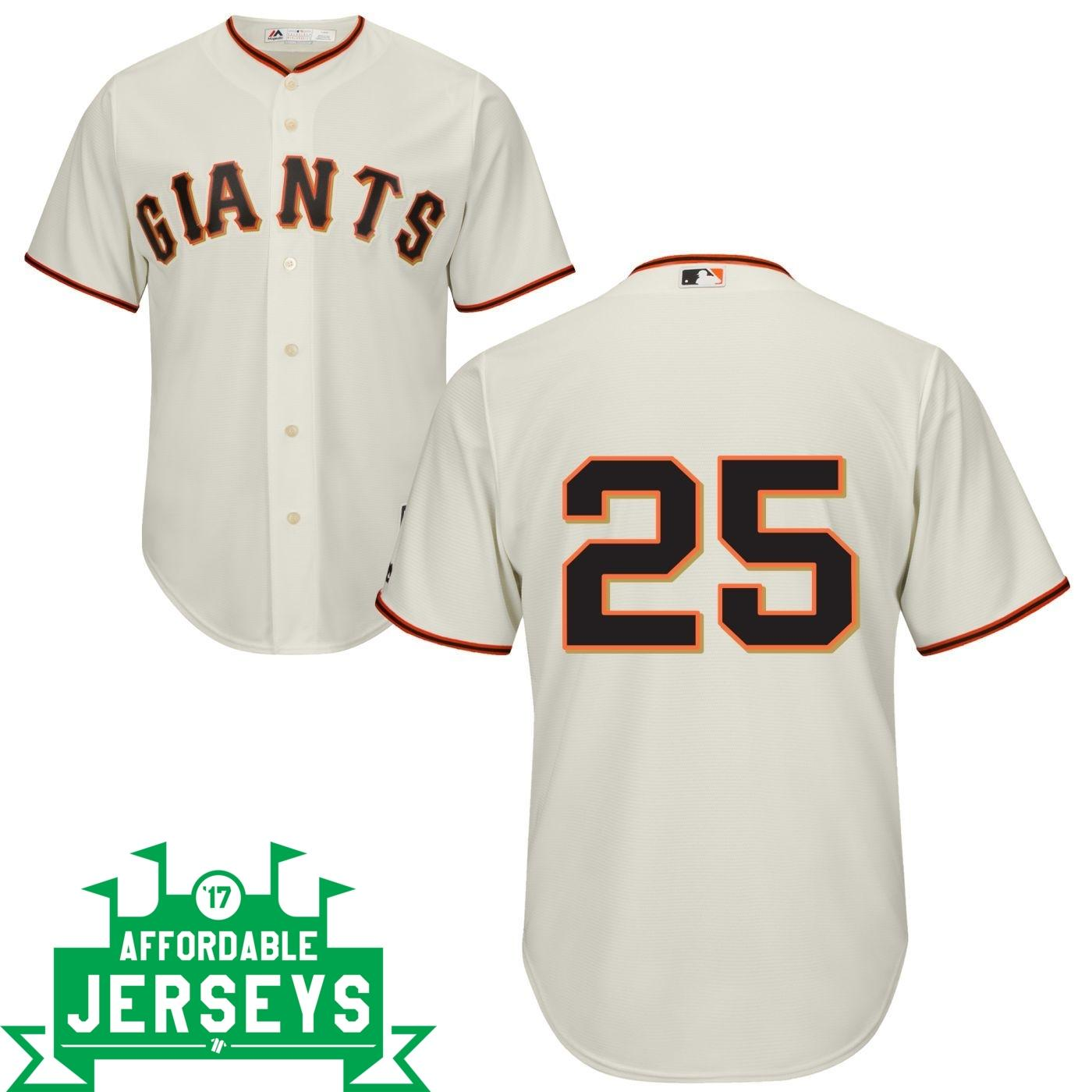 Barry Bonds Home Cool Base Player Jersey - AffordableJerseys.com