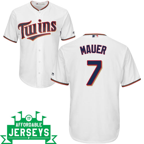 Joe Mauer Home Cool Base Player Jersey - AffordableJerseys.com