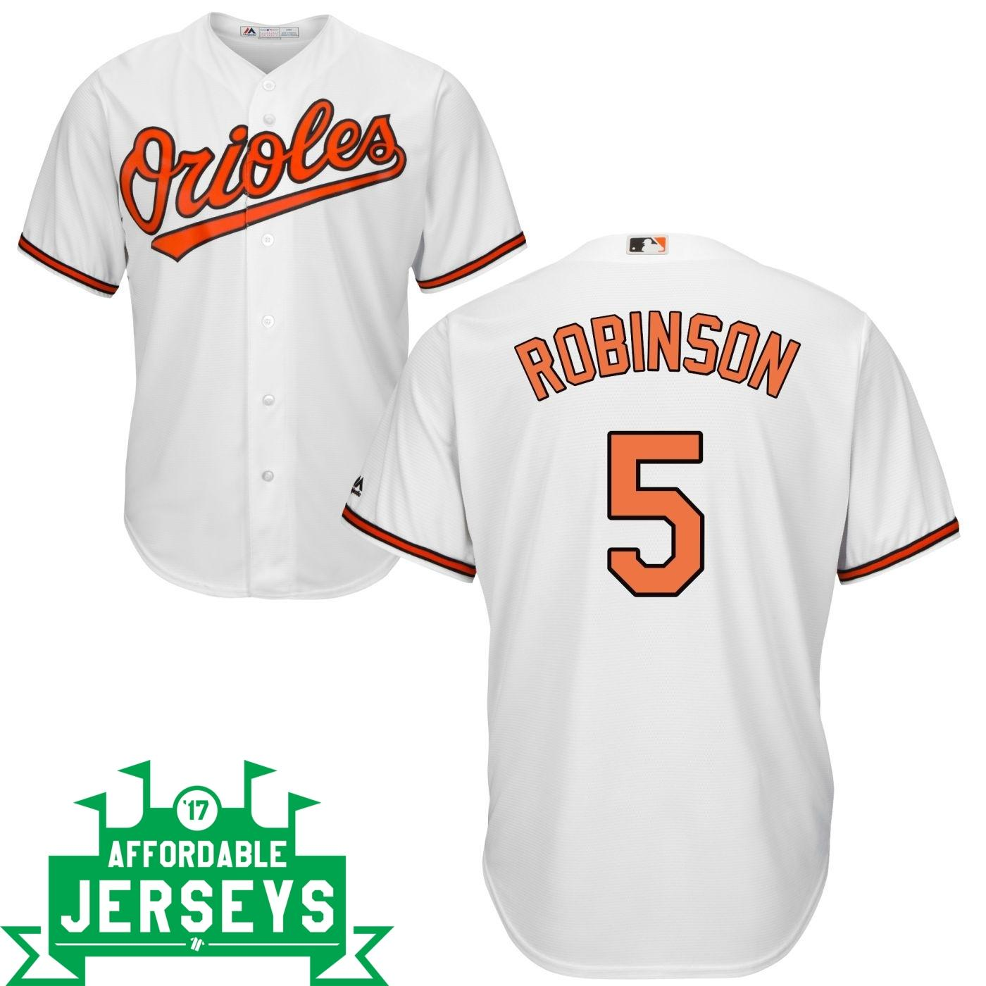 Brooks Robinson Home Cool Base Player Jersey - AffordableJerseys.com