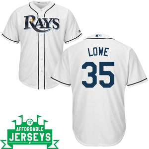 Nate Lowe Home Cool Base Player Jersey - AffordableJerseys.com
