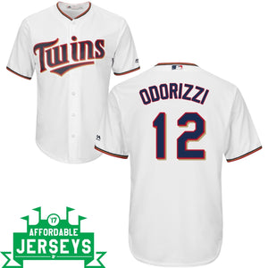 Jake Odorizzi Home Cool Base Player Jersey - AffordableJerseys.com