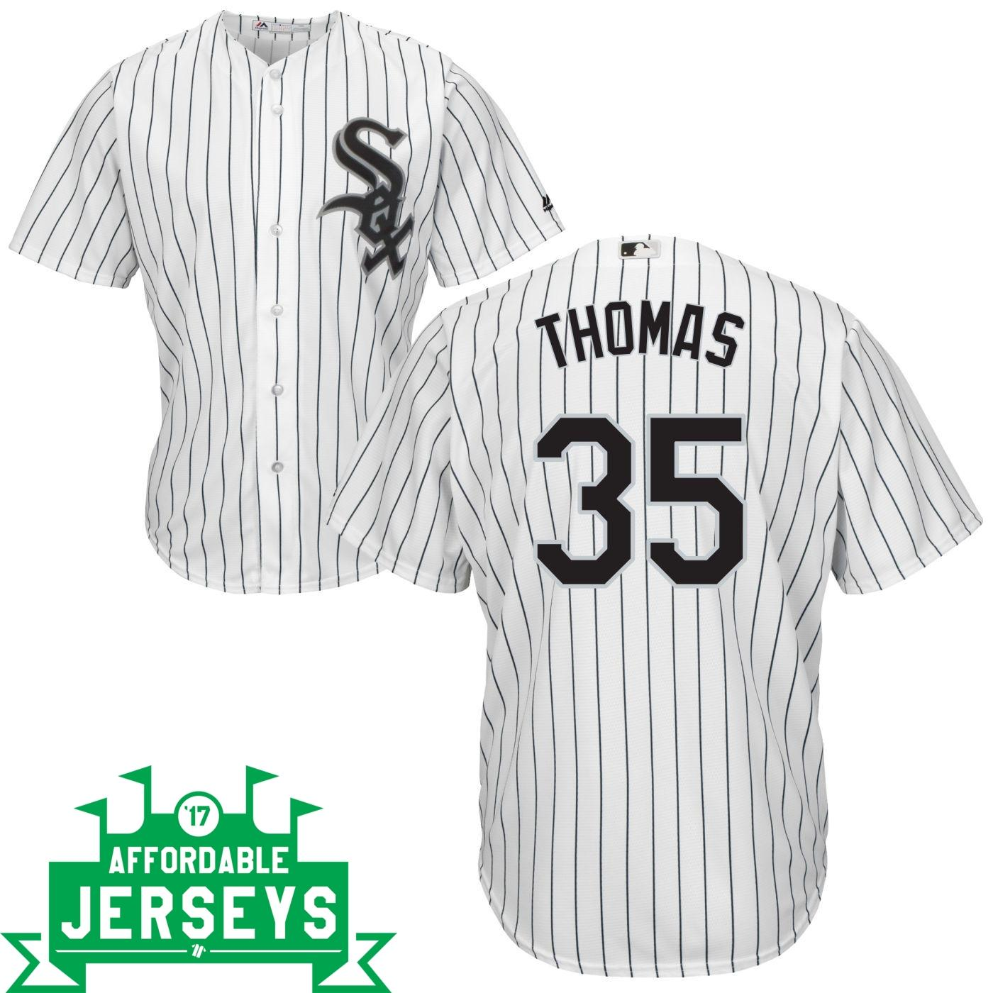 Frank Thomas Home Cool Base Player Jersey