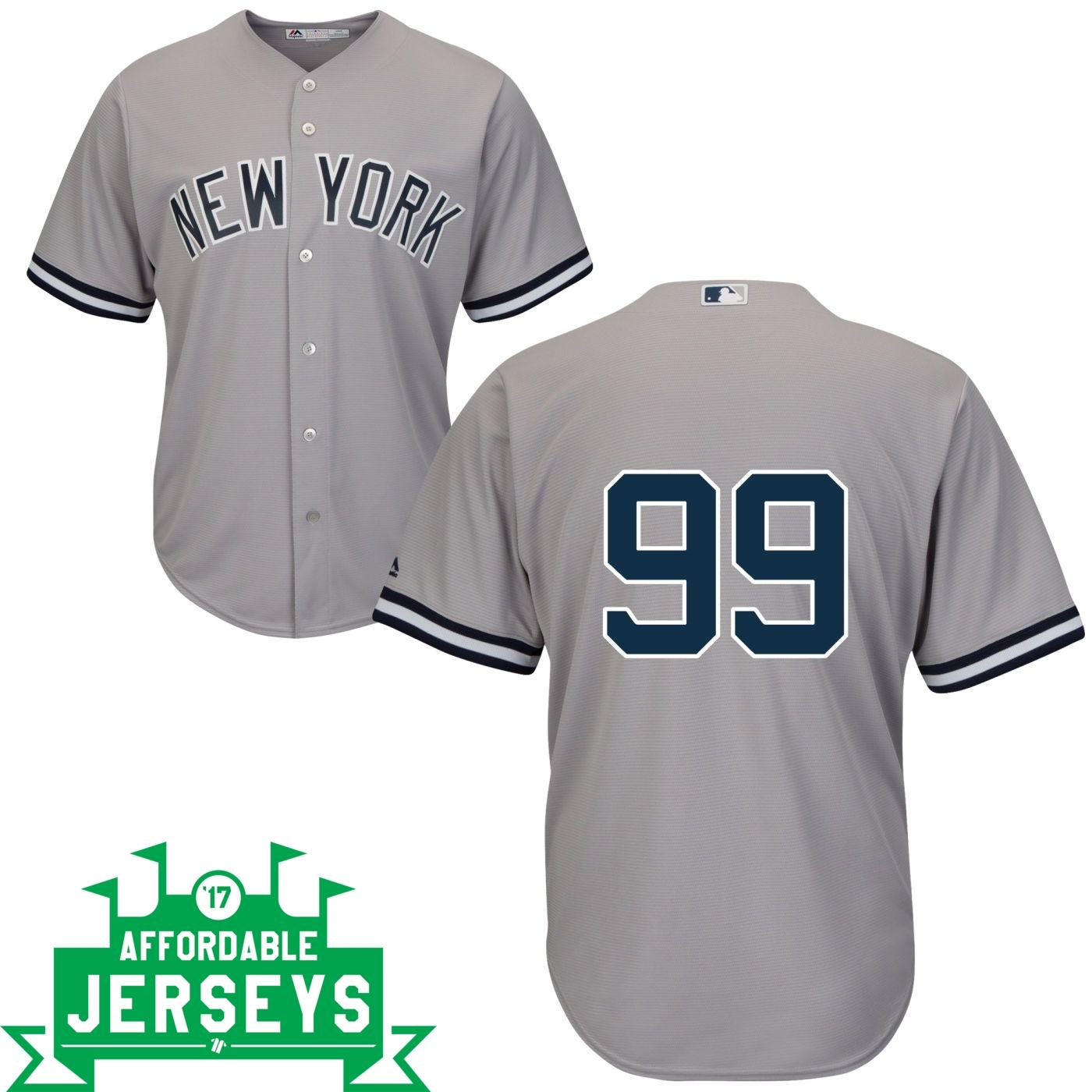 Aaron Judge Road Cool Base Player Jersey - AffordableJerseys.com
