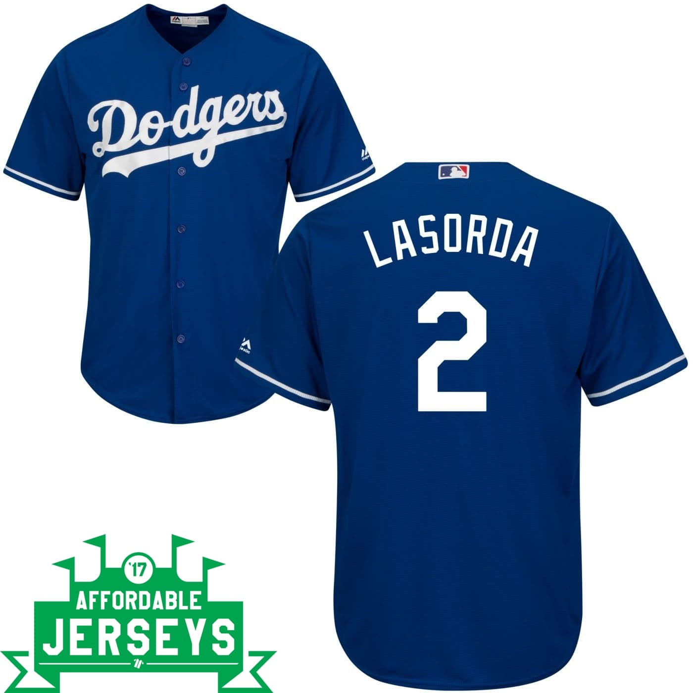 Tommy Lasorda Alternate Cool Base Player Jersey
