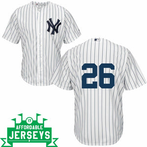 DJ LeMahieu Youth Home Cool Base Player Jersey - AffordableJerseys.com