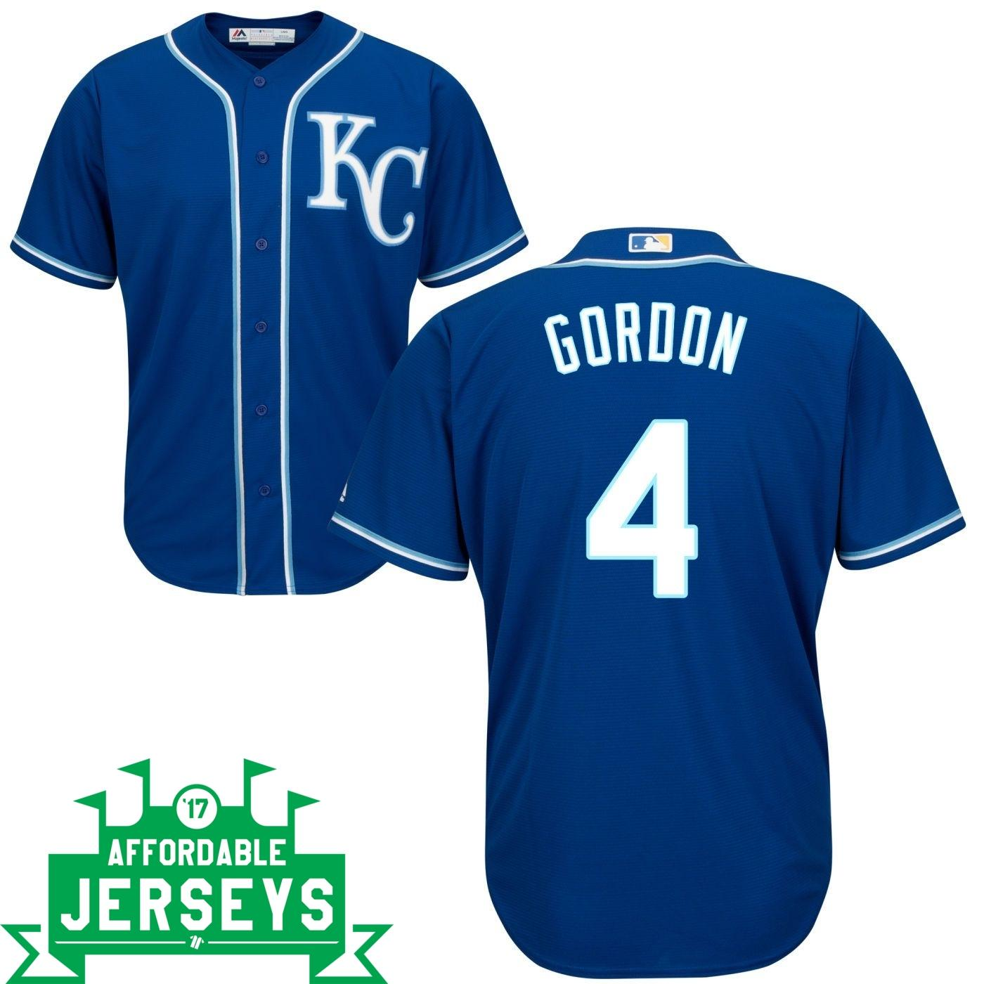 Alex Gordon Road Cool Base Player Jersey - AffordableJerseys.com