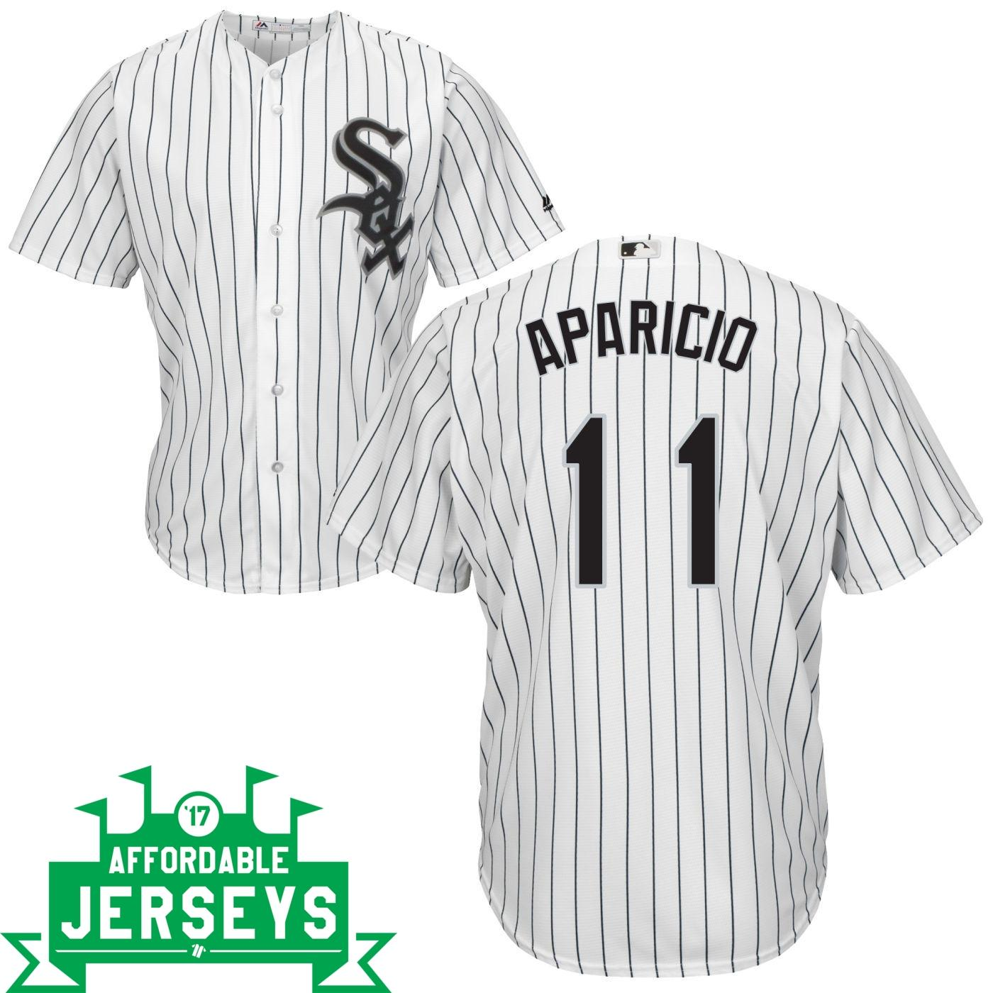 Luis Aparicio Home Cool Base Player Jersey