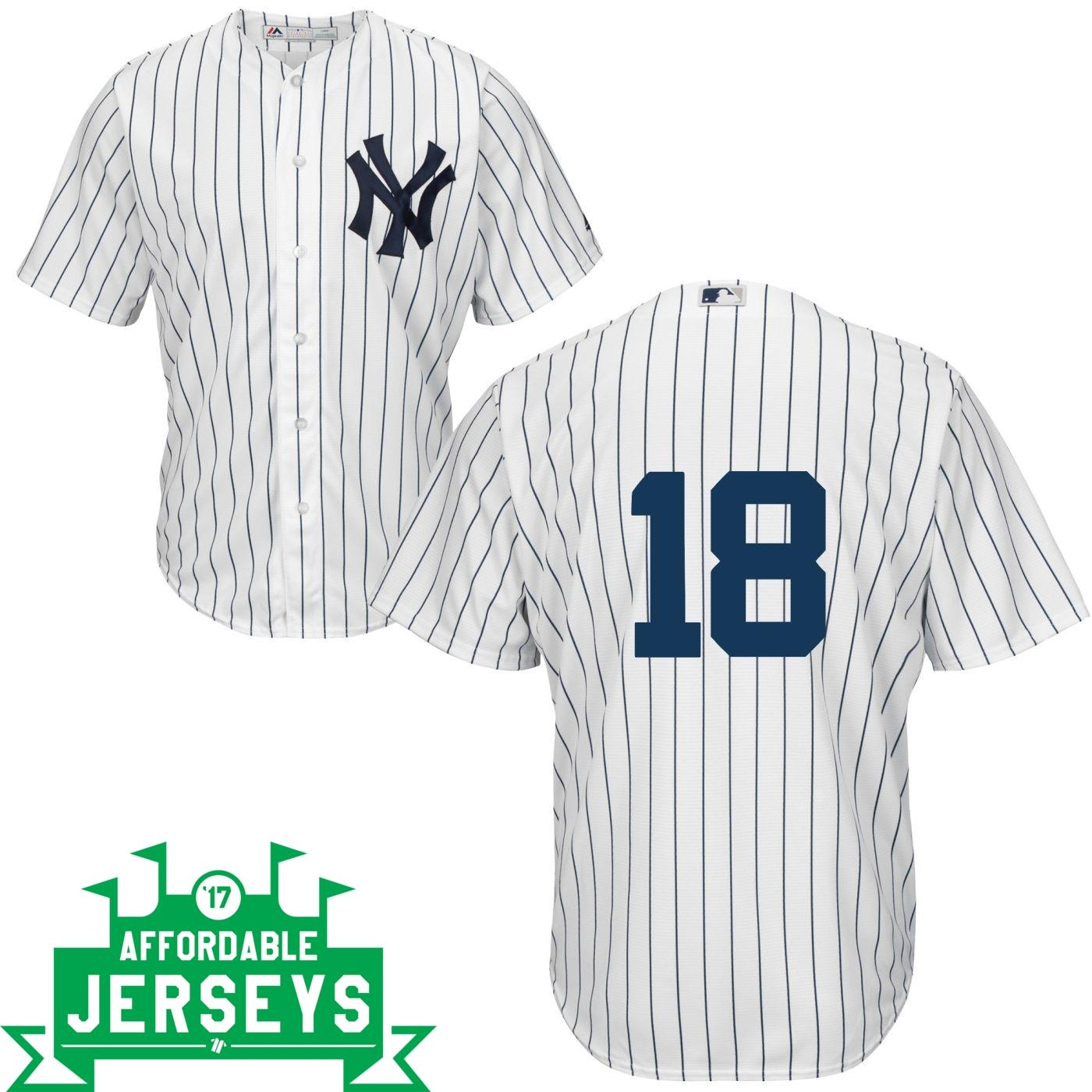 Didi Gregorius Home Cool Base Player Jersey