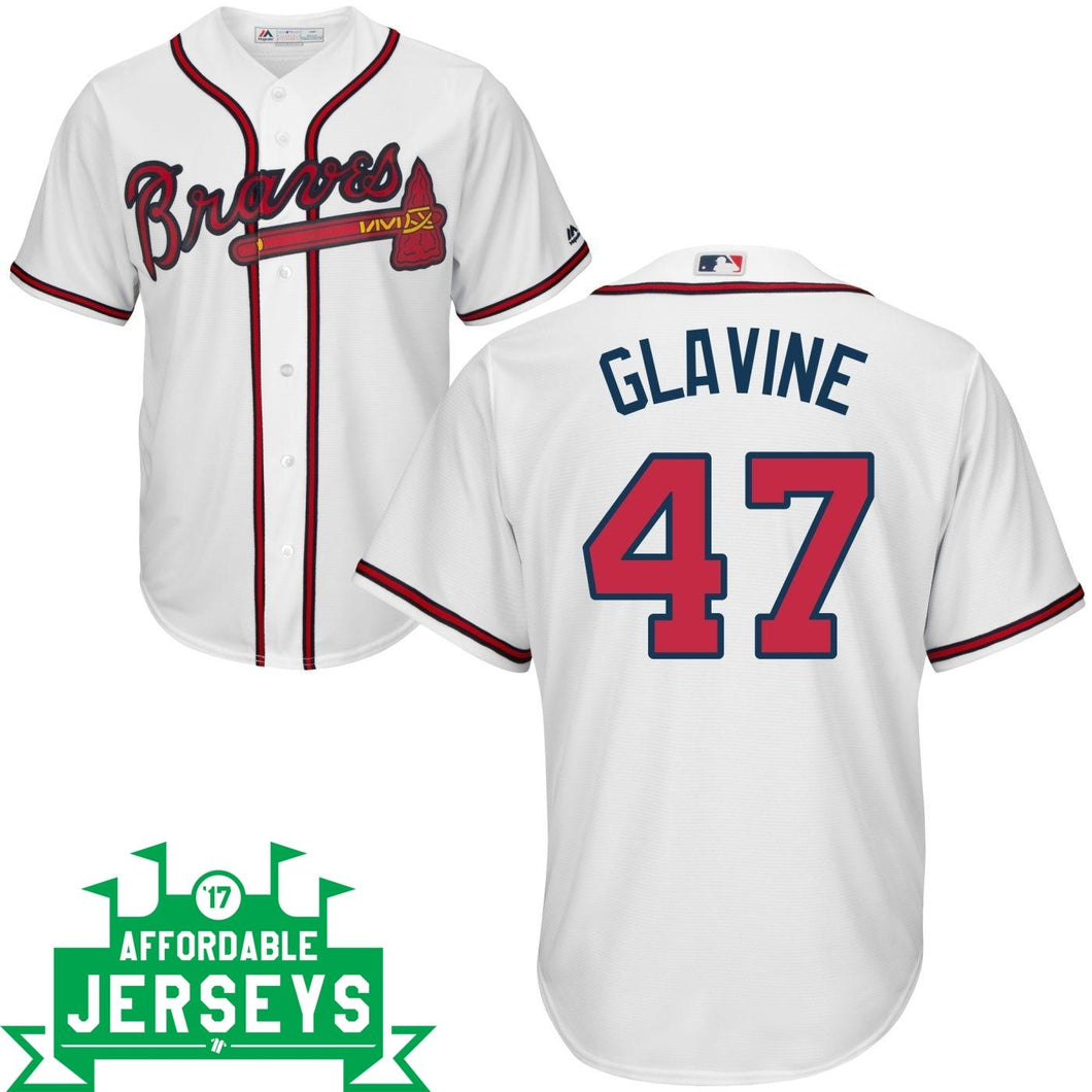 Tom Glavine Home Cool Base Player Jersey