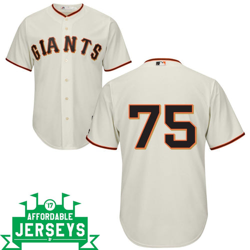 Barry Zito Home Cool Base Player Jersey