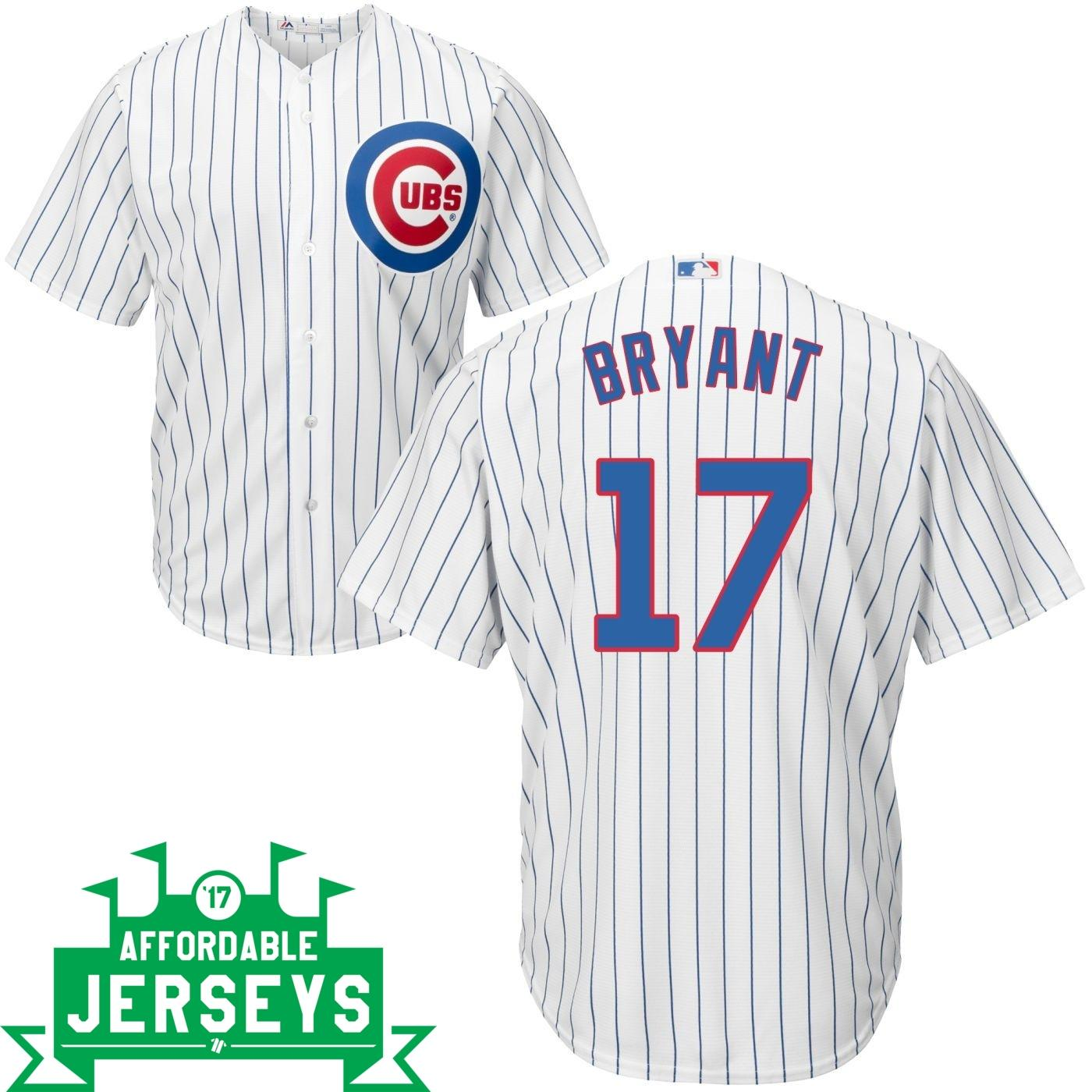 Kris Bryant Home Cool Base Player Jersey - AffordableJerseys.com