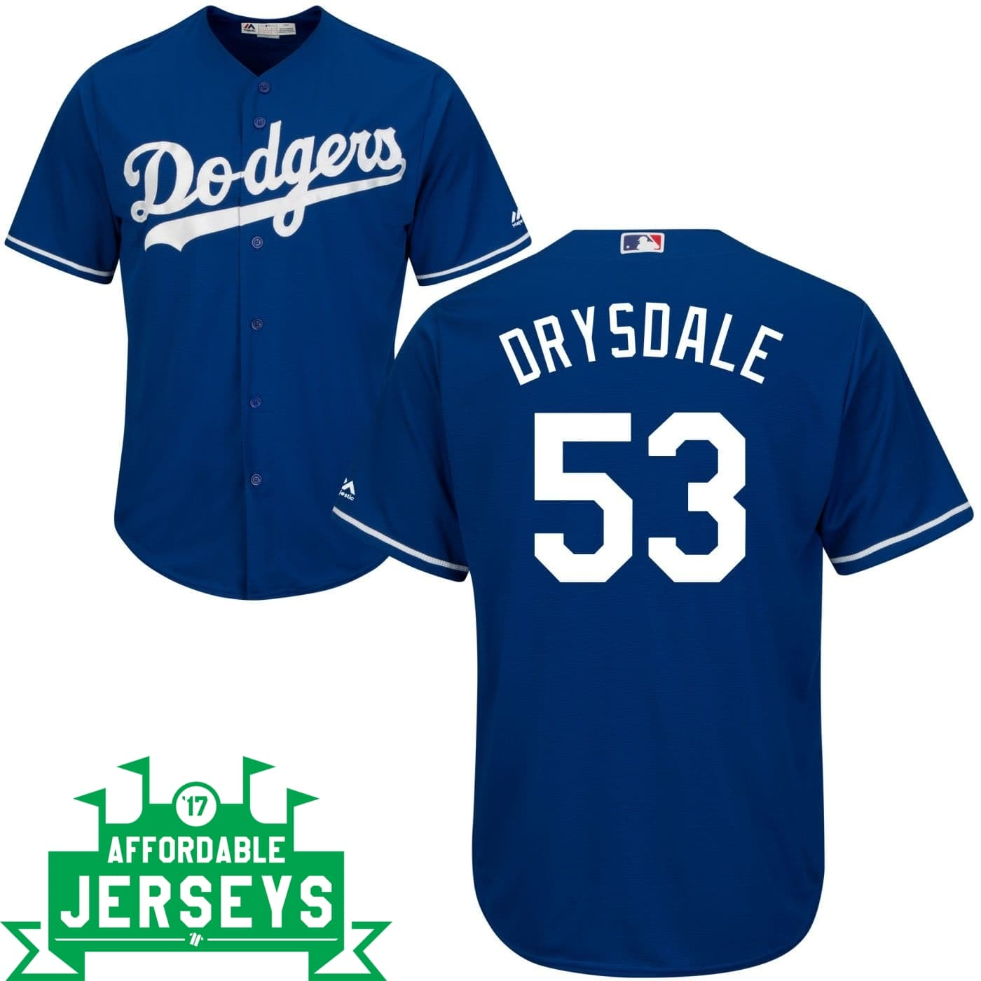 Don Drysdale Alternate Cool Base Player Jersey