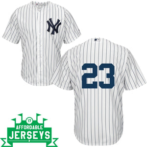 Don Mattingly Youth Home Cool Base Player Jersey