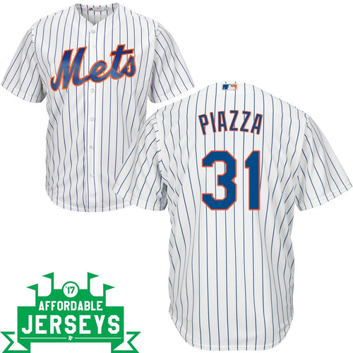 Mike Piazza Home Cool Base Player Jersey - AffordableJerseys.com