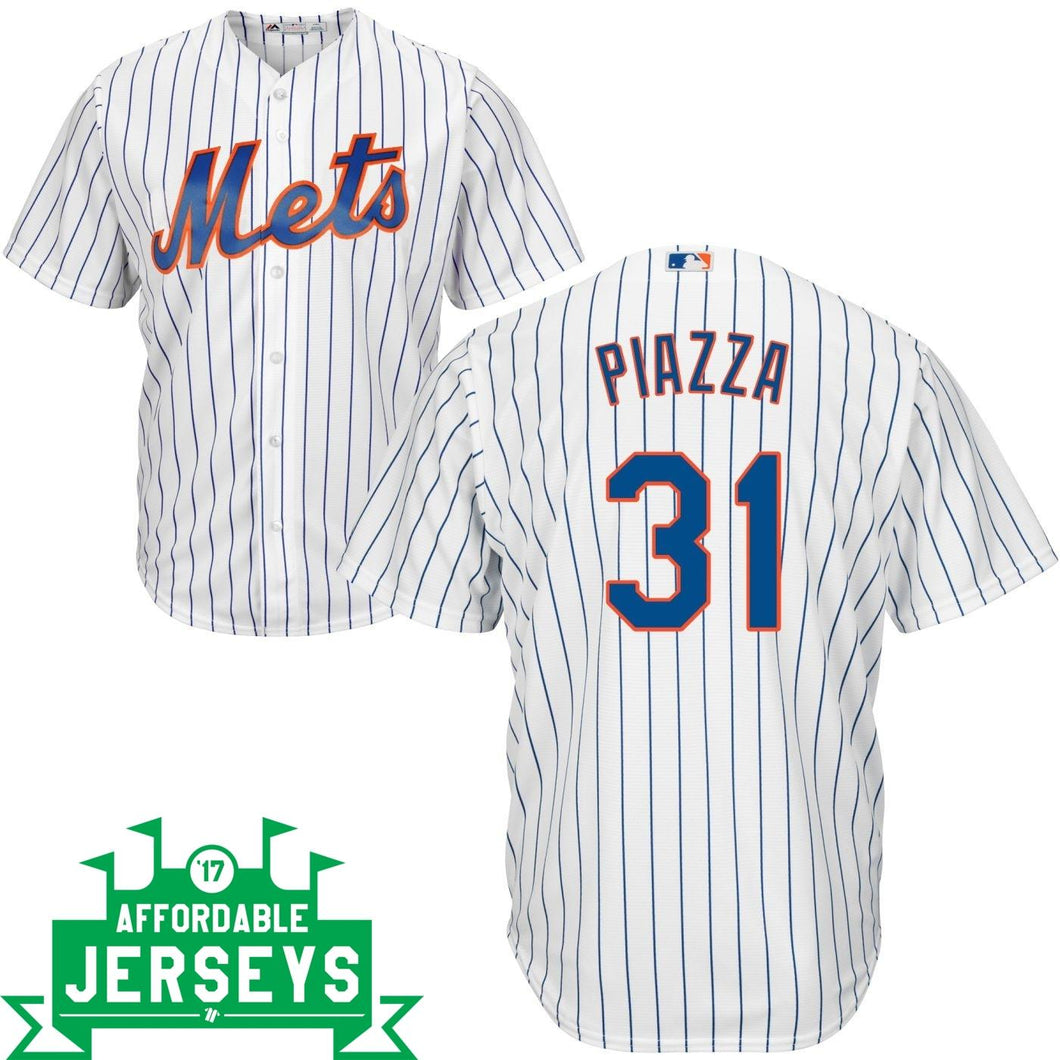 Mike Piazza Home Cool Base Player Jersey