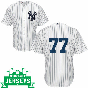 Clint Frazier Youth Home Cool Base Player Jersey