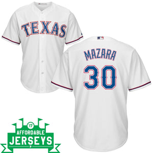 Nomar Mazara Home Cool Base Player Jersey