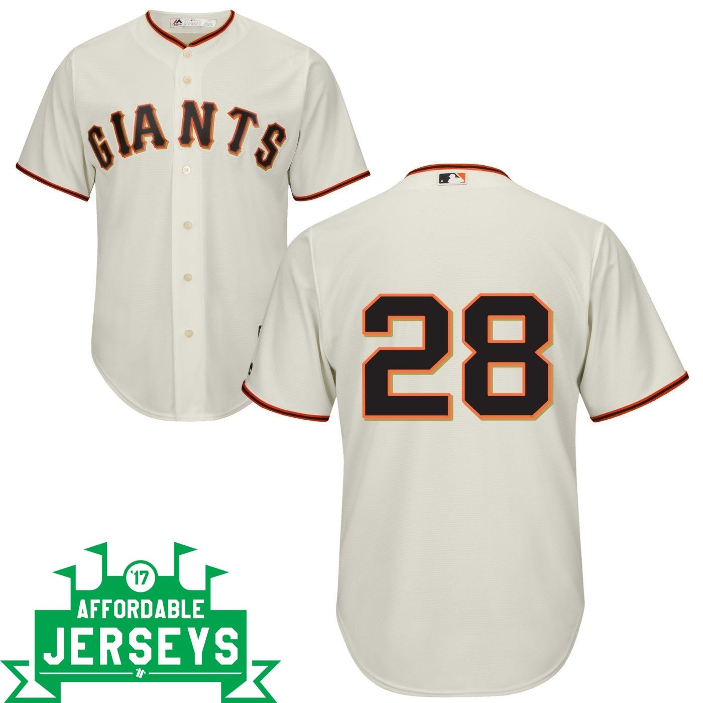 Buster Posey Home Cool Base Player Jersey - AffordableJerseys.com