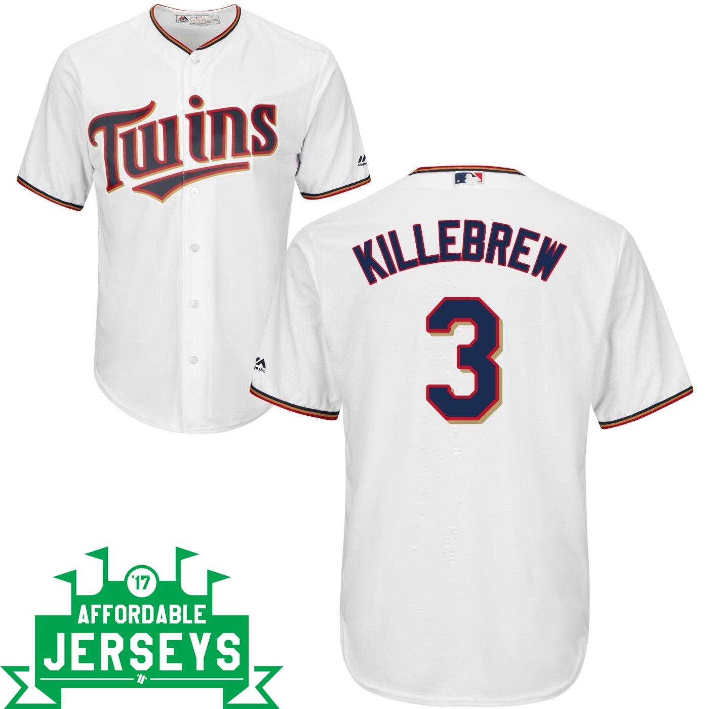 Harmon Killebrew Home Cool Base Player Jersey - AffordableJerseys.com