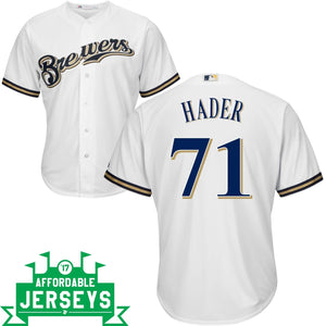 Josh Hader Home Cool Base Player Jersey - AffordableJerseys.com