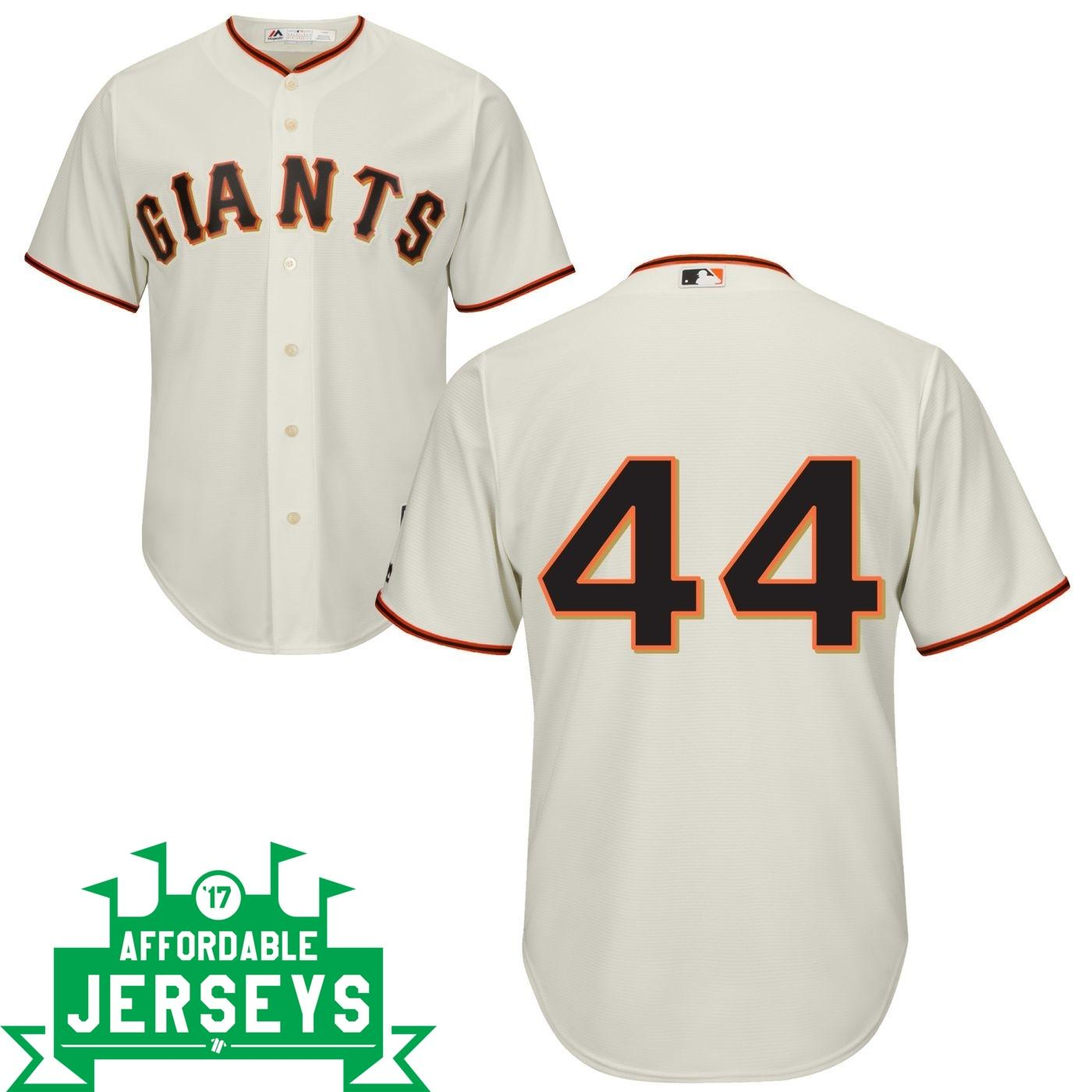 Willie McCovey Home Cool Base Player Jersey