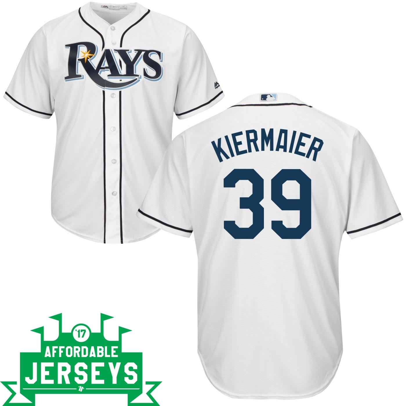 Kevin Kiermaier Home Cool Base Player Jersey - AffordableJerseys.com