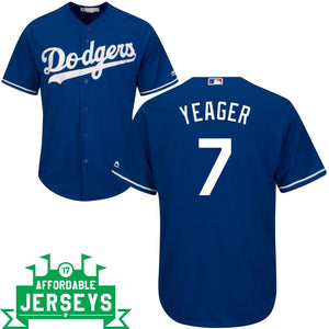 Steve Yeager Alternate Cool Base Player Jersey