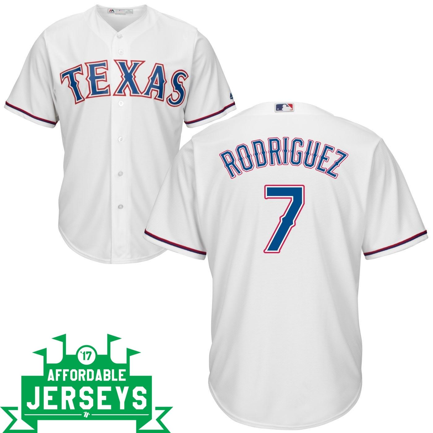 Iván Rodríguez Home Cool Base Player Jersey