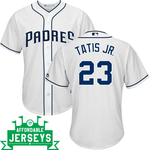 Fernando Tatis Jr. Home Cool Base Player Jersey - AffordableJerseys.com
