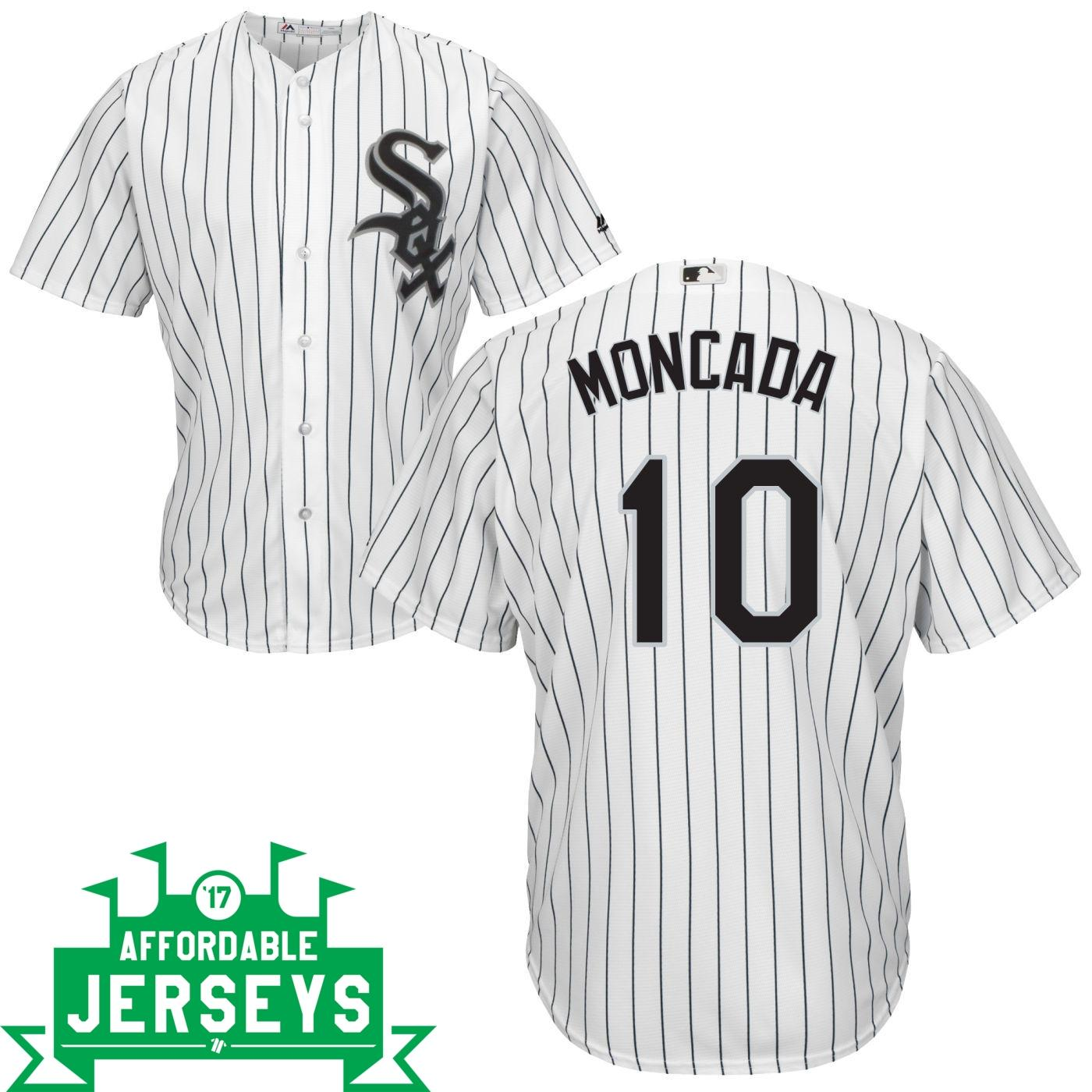 Yoan Moncada Home Cool Base Player Jersey