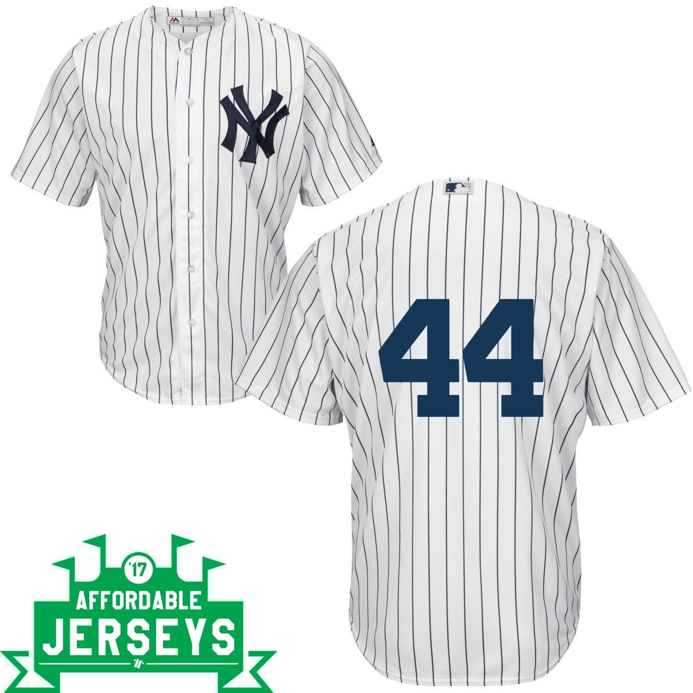 Reggie Jackson Youth Home Cool Base Player Jersey