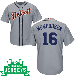 Hal Newhouser Road Cool Base Player Jersey - AffordableJerseys.com