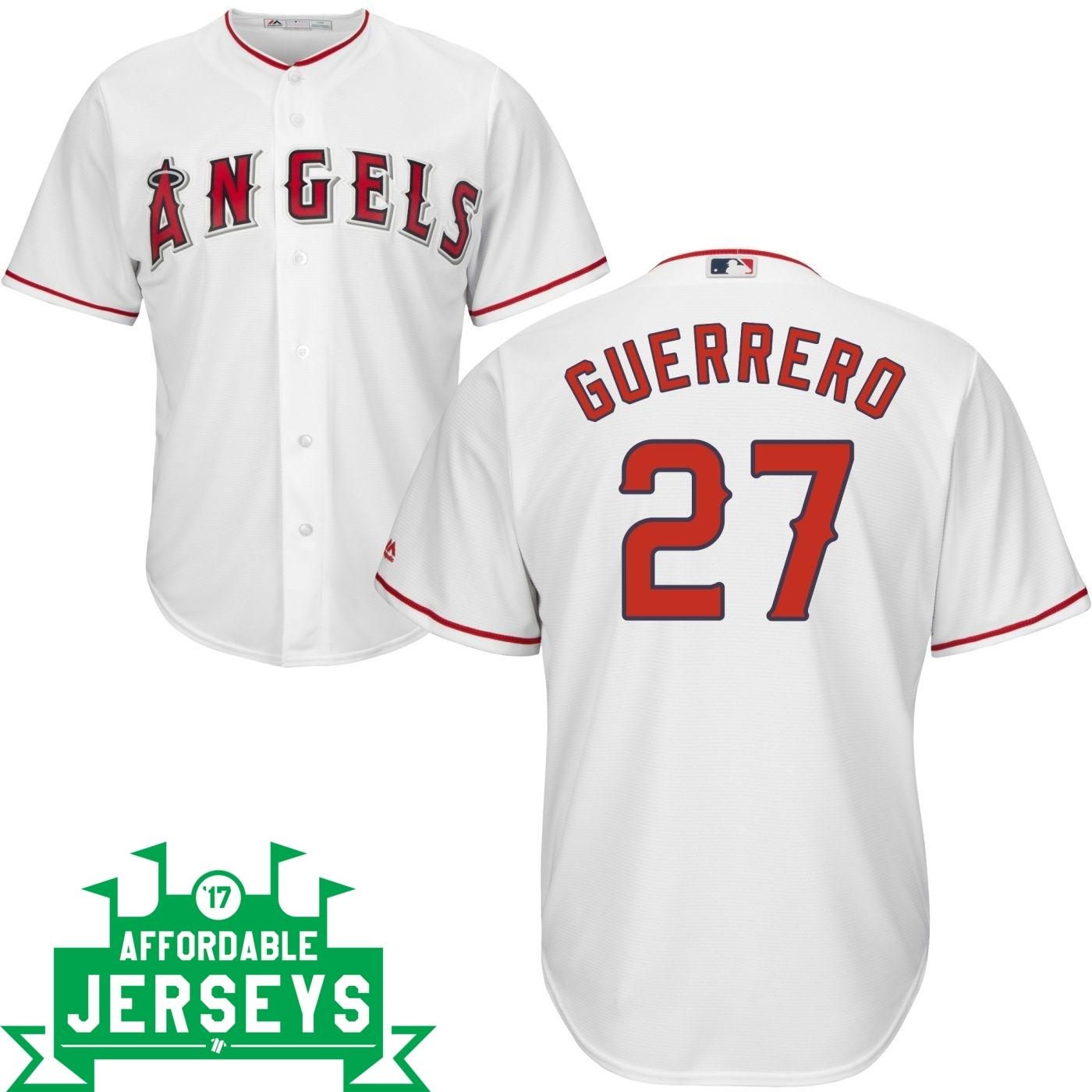 Vladimir Guerrero Home Cool Base Player Jersey - AffordableJerseys.com