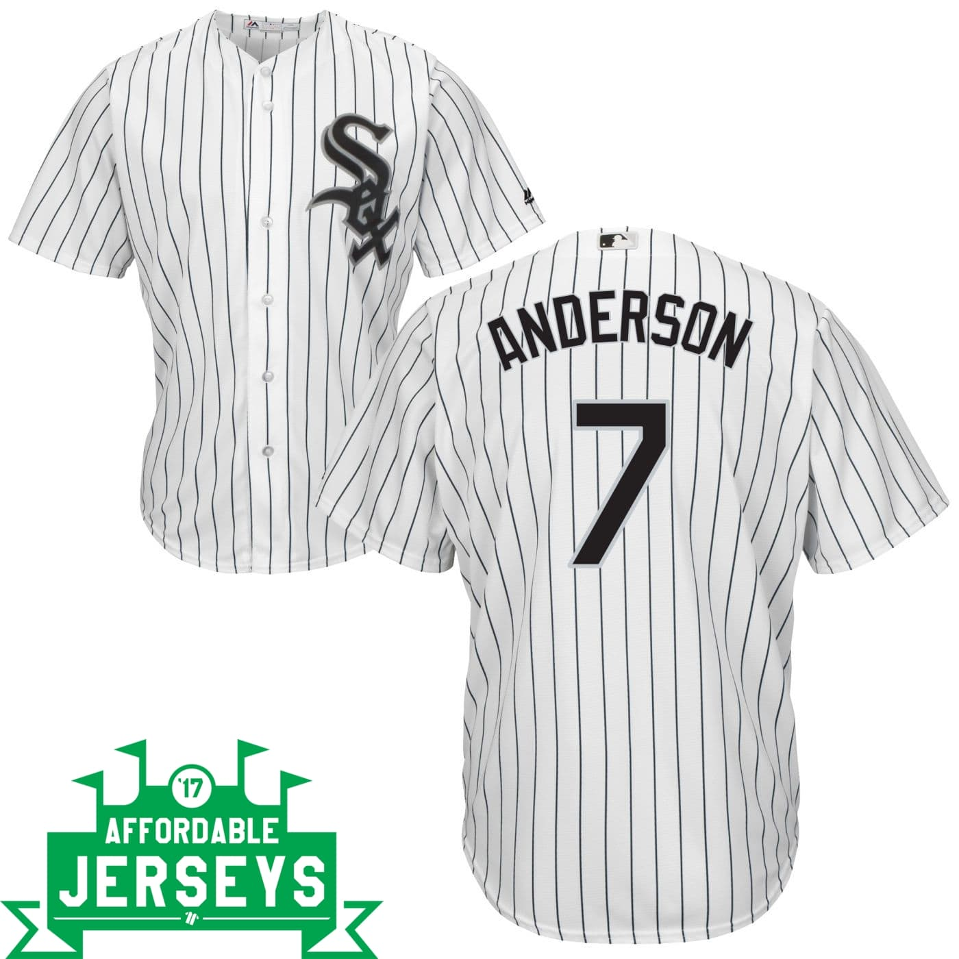 Tim Anderson Home Cool Base Player Jersey - AffordableJerseys.com