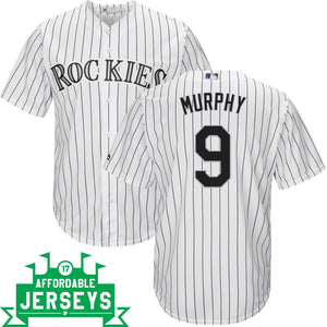 Daniel Murphy Home Cool Base Player Jersey - AffordableJerseys.com