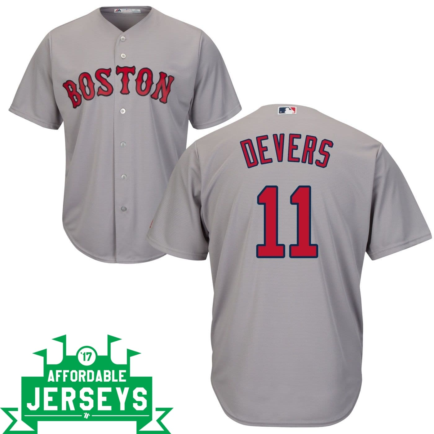 Rafael Devers Road Cool Base Player Jersey
