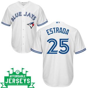 Marco Estrada Home Cool Base Player Jersey - AffordableJerseys.com