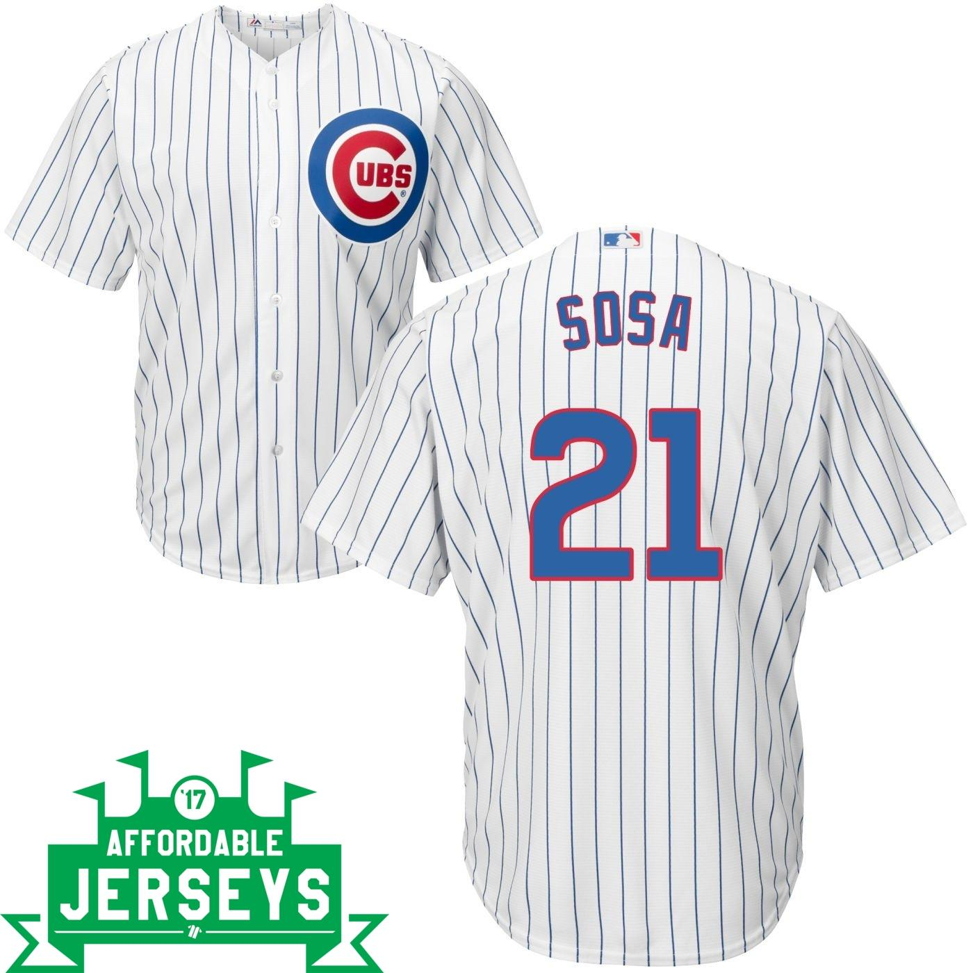 Sammy Sosa Home Cool Base Player Jersey