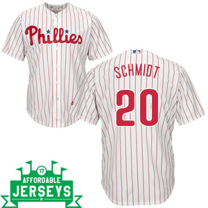 Mike Schmidt Home Cool Base Player Jersey