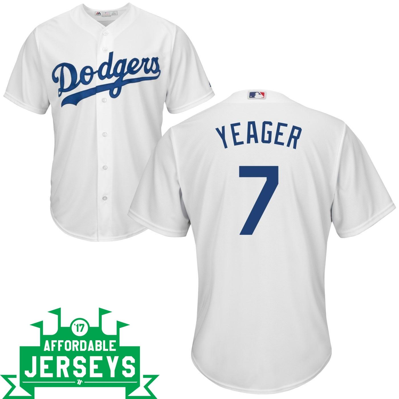Steve Yeager Home Cool Base Player Jersey
