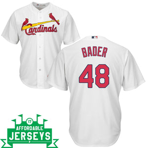 Harrison Bader Home Cool Base Player Jersey
