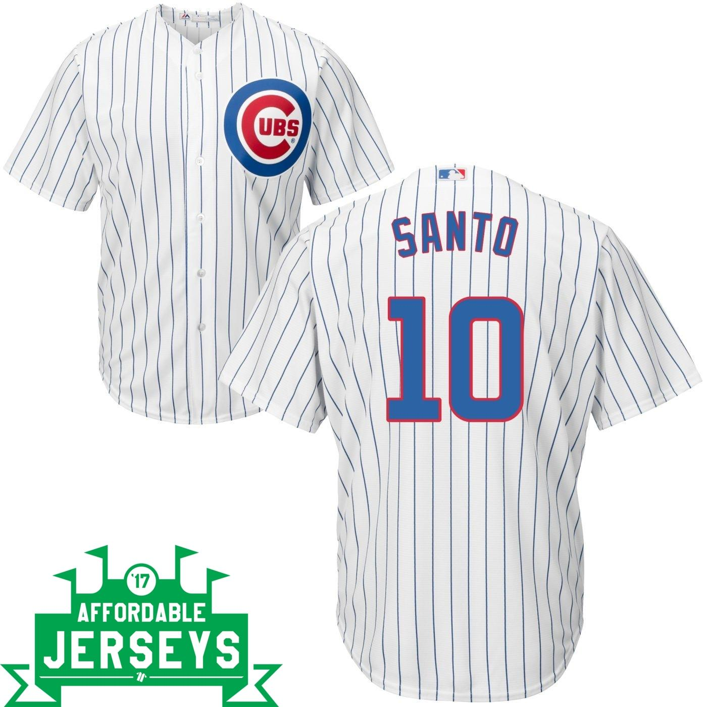 Ron Santo Home Cool Base Player Jersey