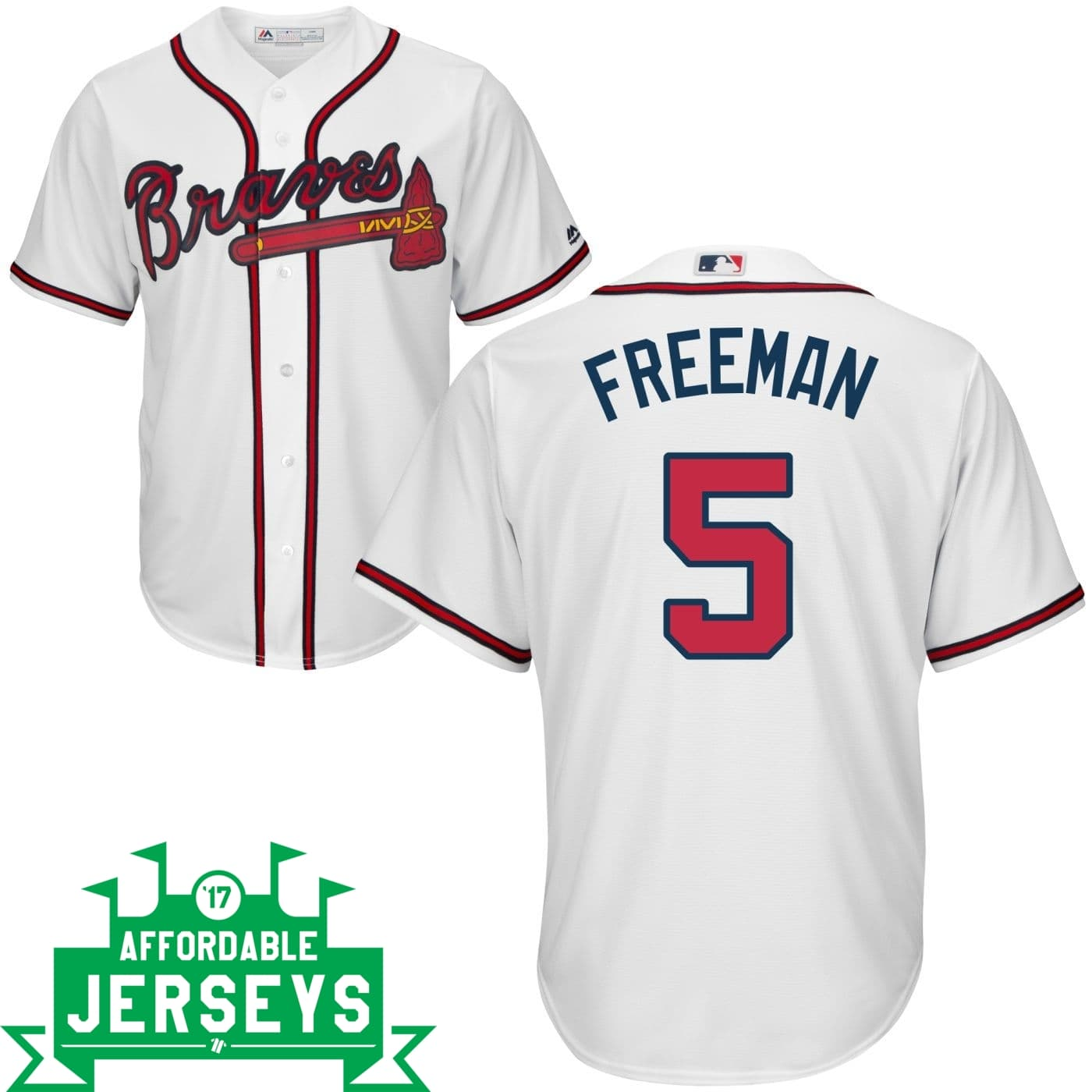 Freddie Freeman Home Cool Base Player Jersey - AffordableJerseys.com