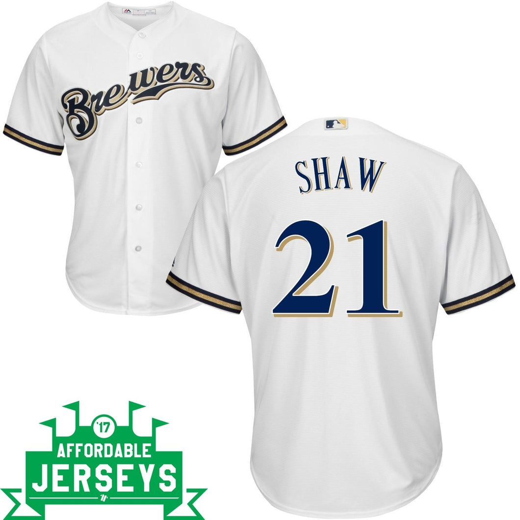 Travis Shaw Home Cool Base Player Jersey