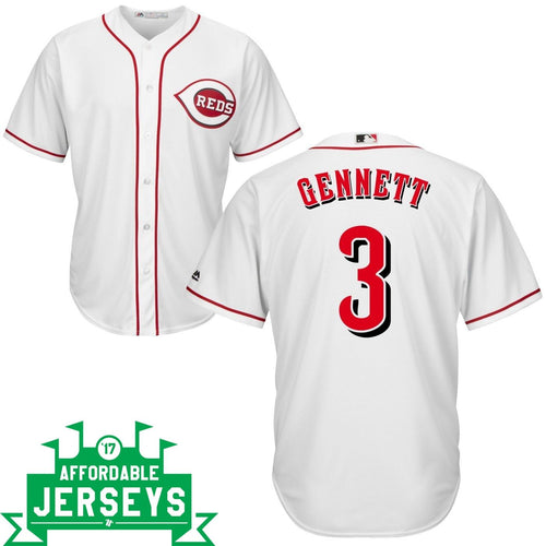 Scooter Gennett Home Cool Base Player Jersey - AffordableJerseys.com
