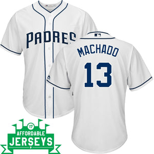 Manny Machado Home Cool Base Player Jersey - AffordableJerseys.com