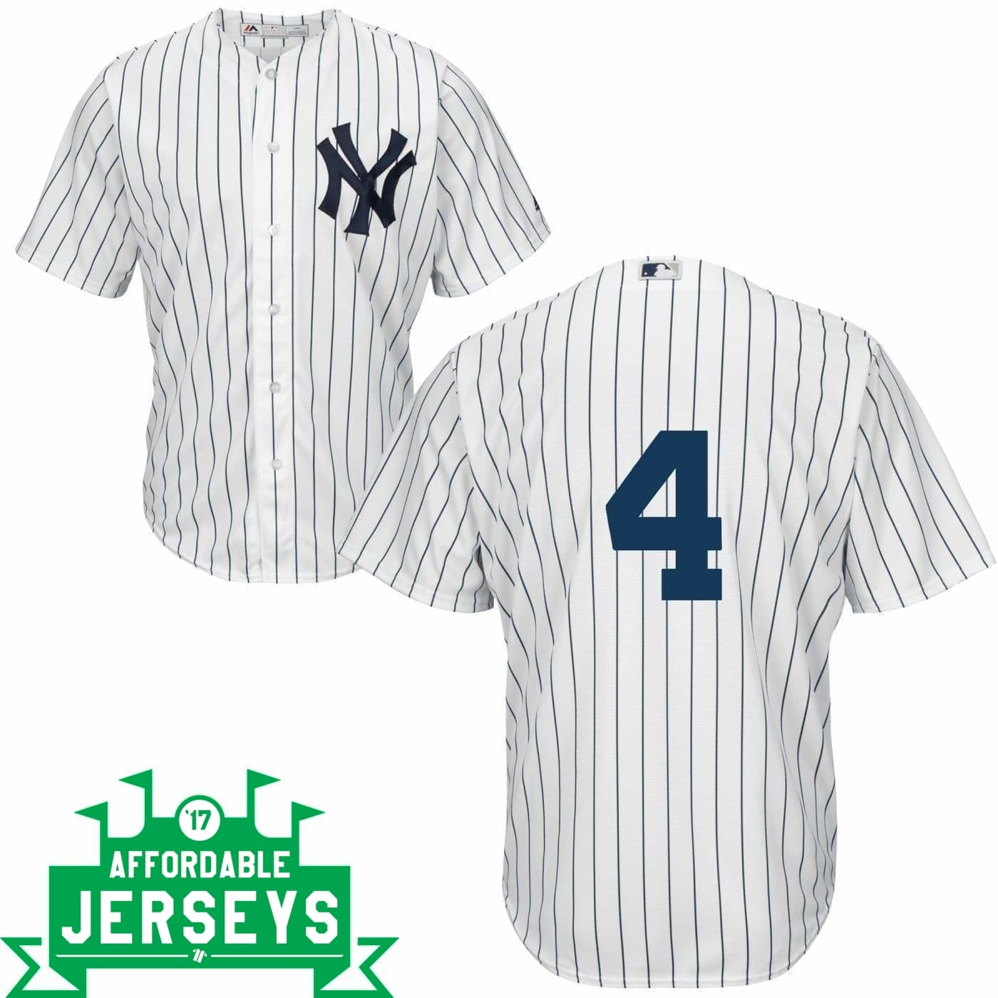 Lou Gehrig Youth Home Cool Base Player Jersey - AffordableJerseys.com
