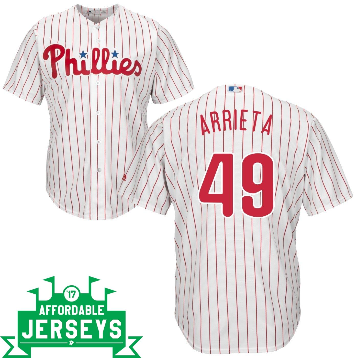 Jake Arrieta Home Cool Base Player Jersey