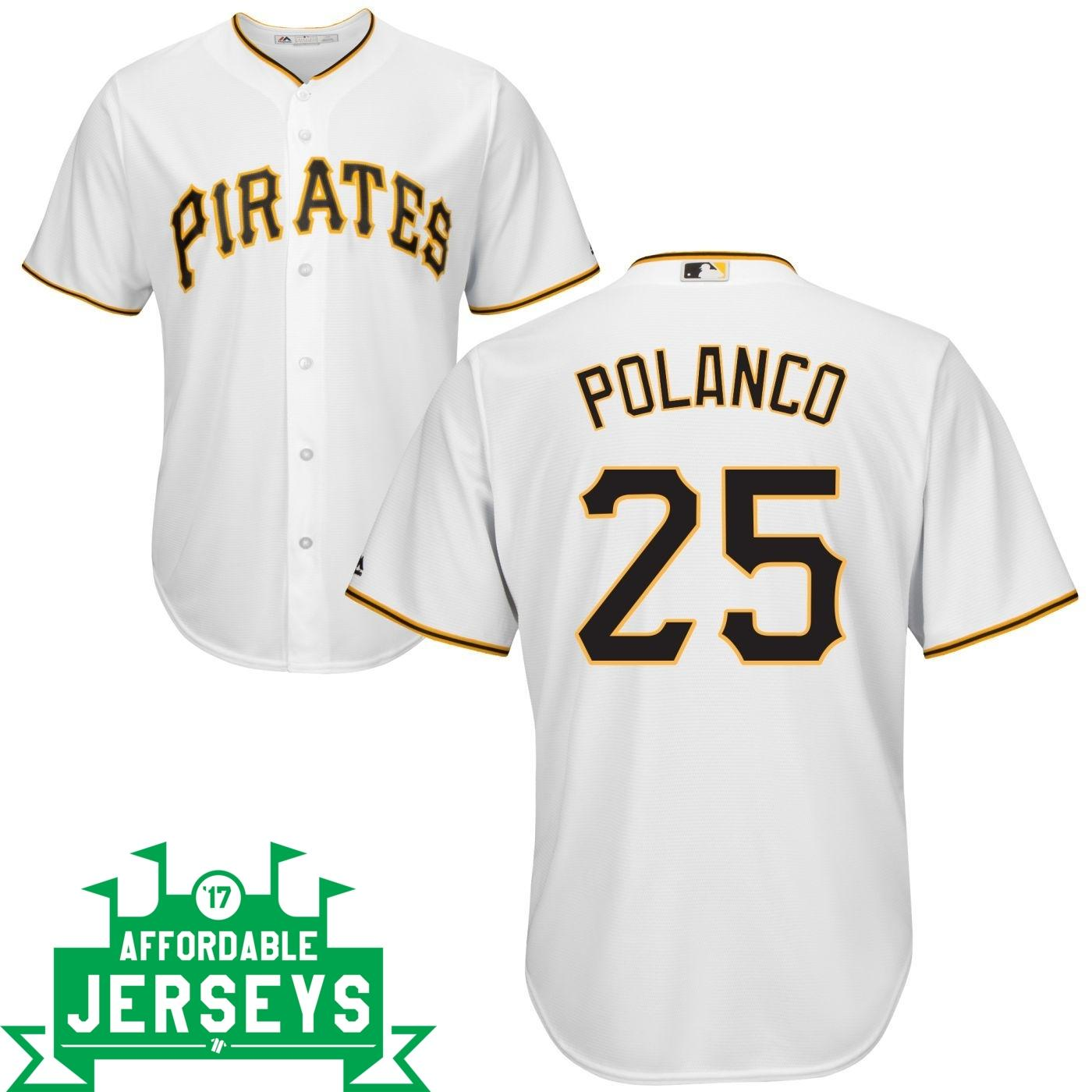 Gregory Polanco Home Cool Base Player Jersey